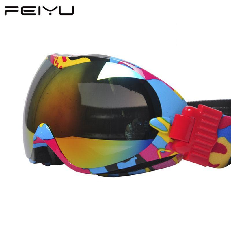 f30d9431e07e 2019 J18 New Brand Ski Goggles Man Woman Snowboard Glasses Snowmobile Ski  Helmet Mate Skateboard Mask Fast Moto Bike Cycling Eyewear From  Kangshifuwat