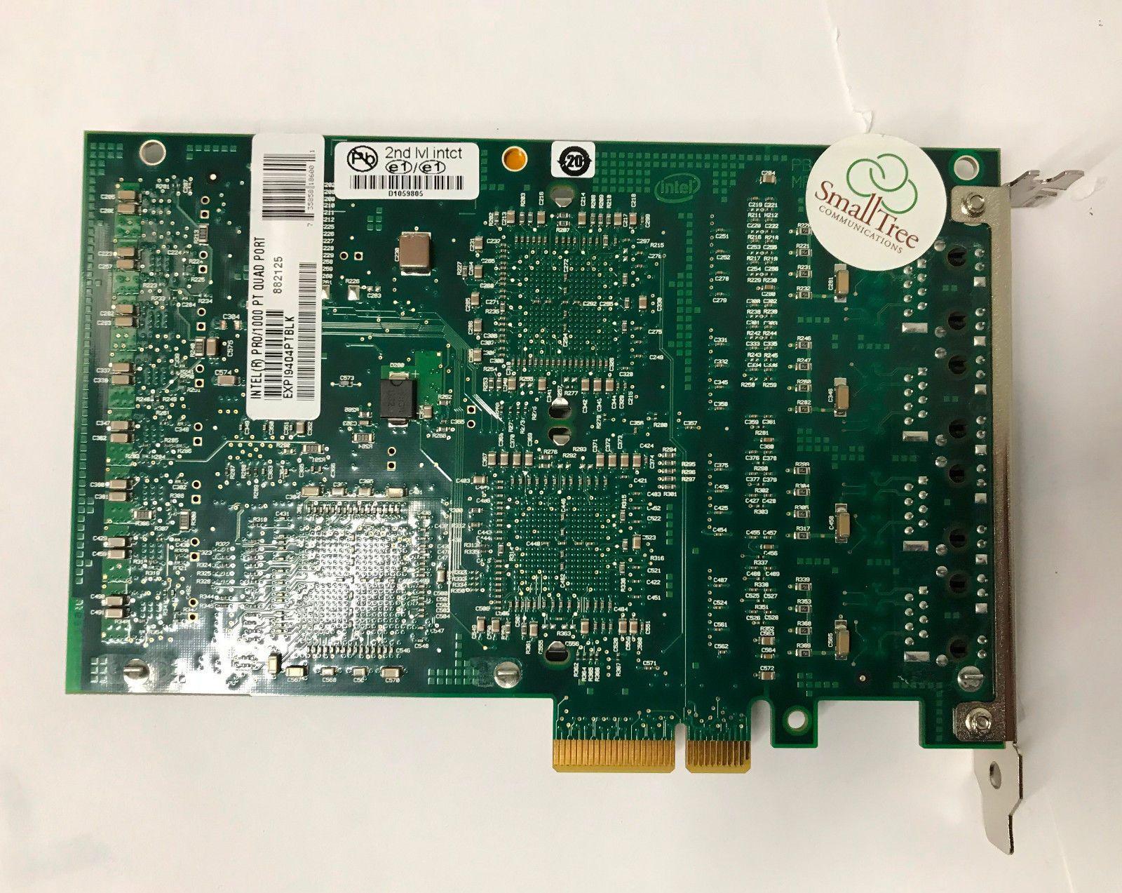 Про 1000PT EXPI9404PTBLK четыре порта Gigabit плата PCI-е сервера 100% испытанное идеальный качество