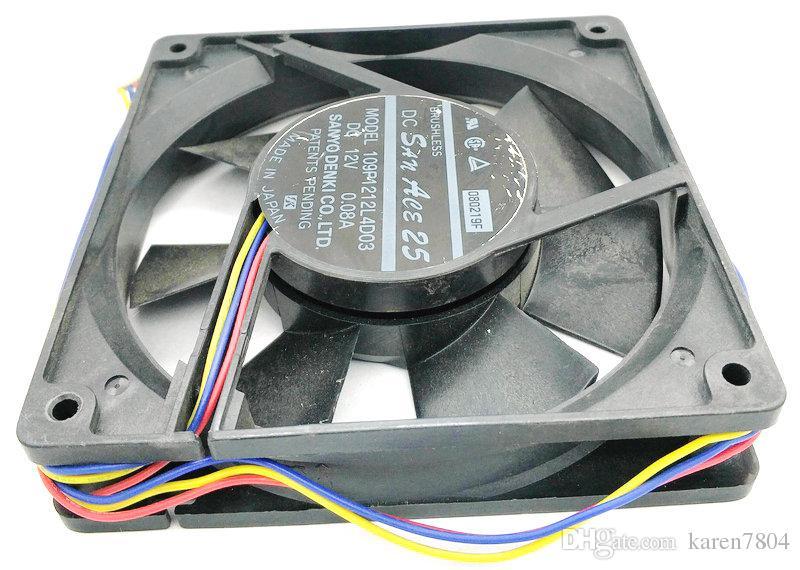 109P1212L4D03 12025 12V 0.44A 4710NL-04W-B49 CPU-Kühler Kühlkörper Lüfter