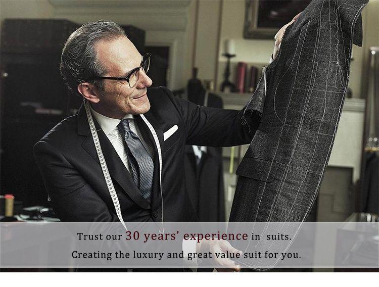 Black Men Suits Business Suits Blazer Custom Made Formal Tailored Tuxedo Slim Fit Wedding Suits Terno Masculino Jacket+Pants+Vest