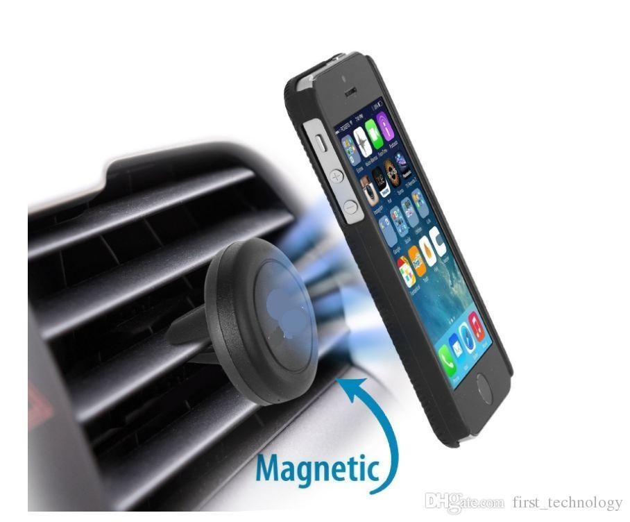 유니버설 에어 환기 자기 전화 아이폰 X 8 7 빠른 스위프트 스냅 기술과 자동차 마운트 홀더 삼성 스마트 폰 미니 태블릿