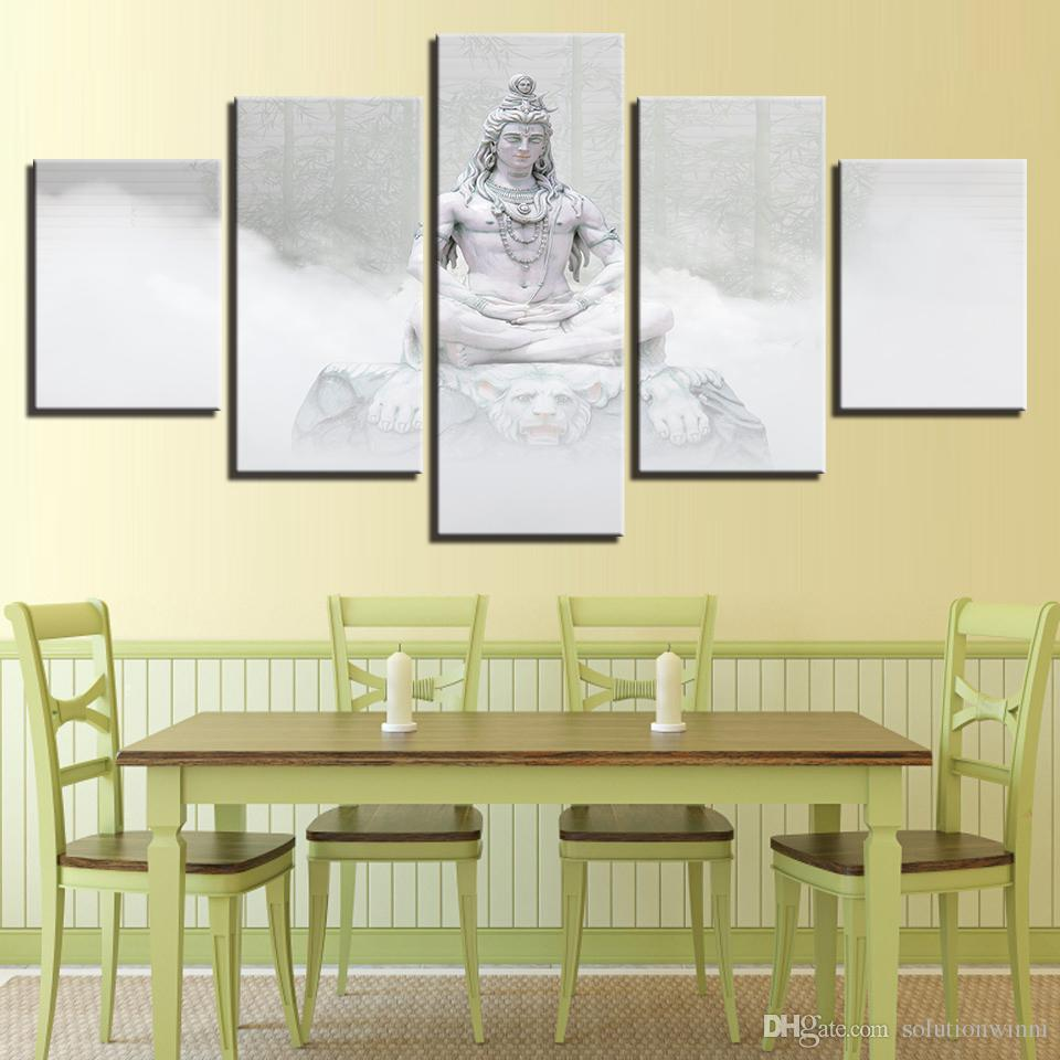 2018 Wall Art Decor Home Pictures Zen Meditation Sitting Prints ...
