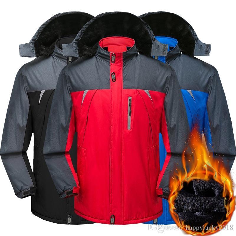 b3d2ca31f9 Plus Fertilizer XL Outdoor Mountaineering Clothing Cold Jacket Men ...