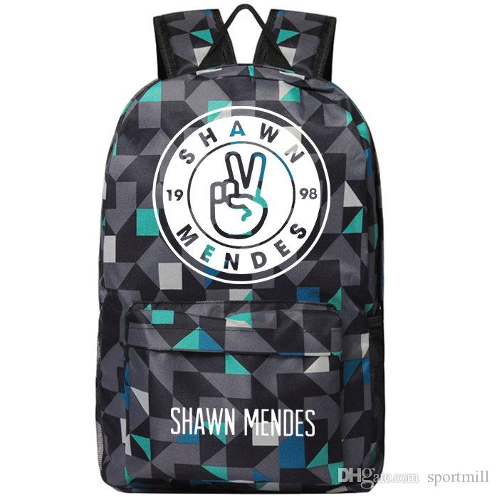 14c5d68f258 2019 Shawn Mendes Backpack Illuminate Singer School Bag Gym Train Daypack  Quality Schoolbag Outdoor Rucksack Sport Day Pack From Sportmill,  23.34    DHgate.