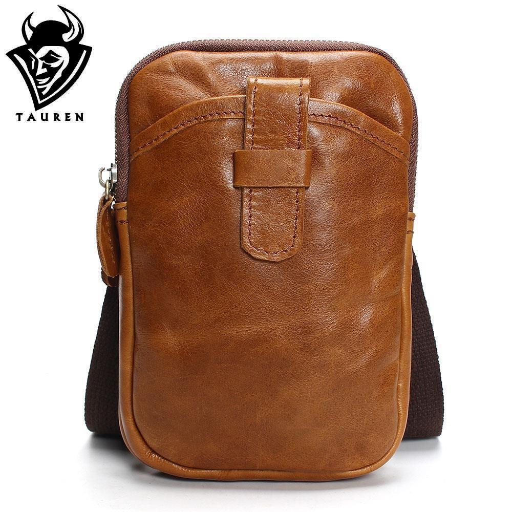 cf35ce0484 Fashion Brand 2018 Mini Men S Vintage 100% Genuine Leather Messenger Bag Men  Cowhide Shoulder Crossbody Bags Male Crossbody Purses Designer Purses From  ...