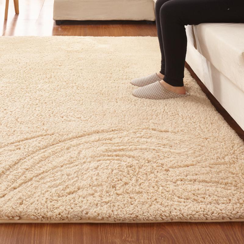 Grosshandel Solide Weiche Wohnzimmer Home Decor Teppich Rechteck
