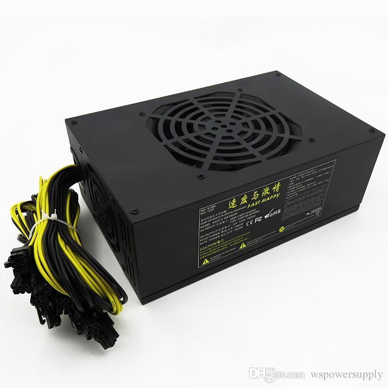 Modern Design 1600w Computer Power Supply Non Modular Electrical ...