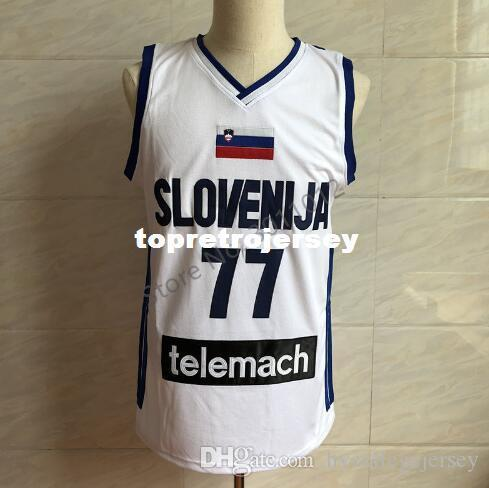 2019 Cheap Luka Doncic  77 Slovenija Basketball Jersey Men S ... 2231972e4