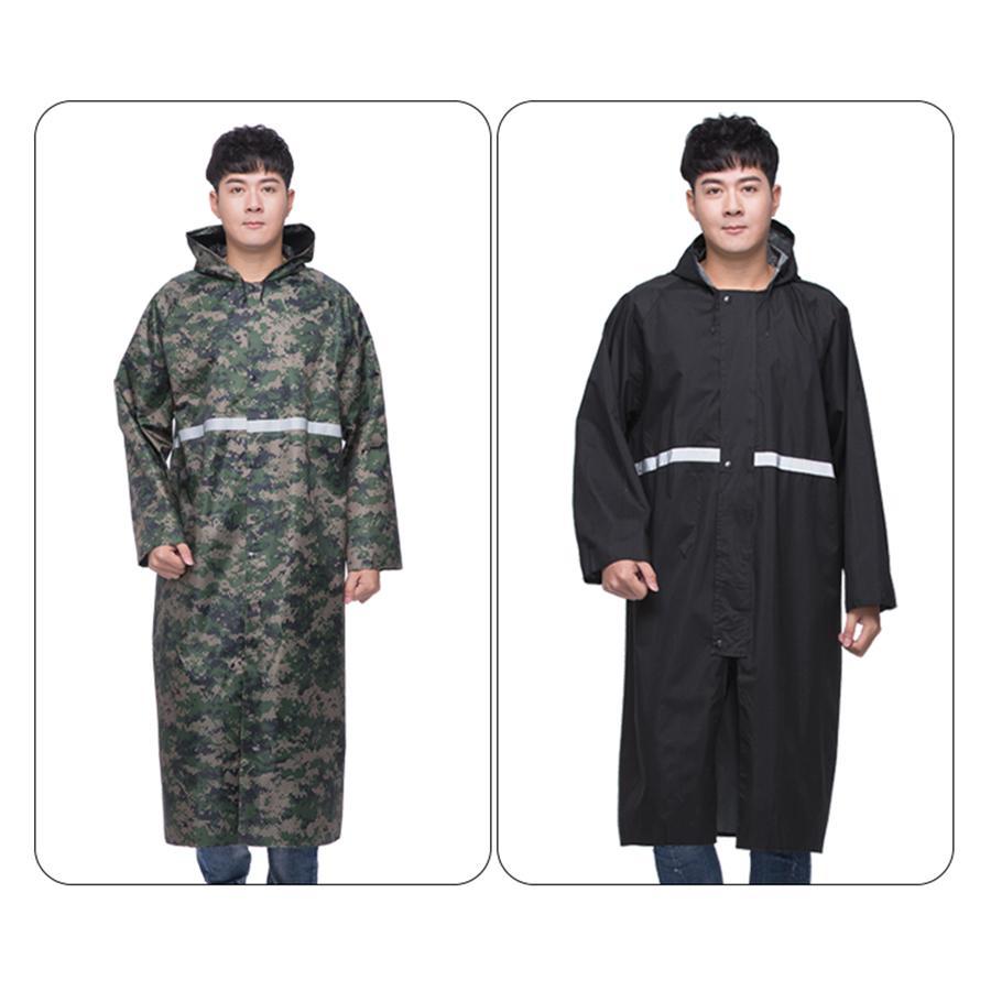 5056f51dc791 PVC Raincoat Women Long Waterproof Poncho Outdoor Man Rain Cape Cover Coat  Men Male Poncho Raincoats Hooded Overalls 50CW220