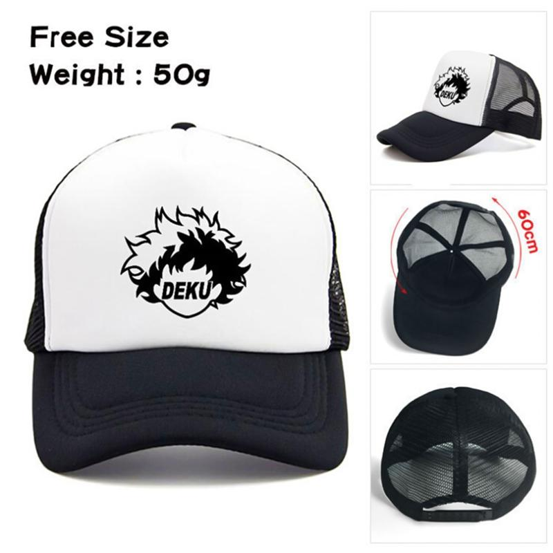 huge selection of cf8f4 c5a15 My Hero Academia Hat Baseball Caps Snapback Caps Hats No Hero Academia  Casual Adjustable Sun Mesh Hats Drop Shipping 2 Styles!! Flat Caps Trucker  Caps From ...