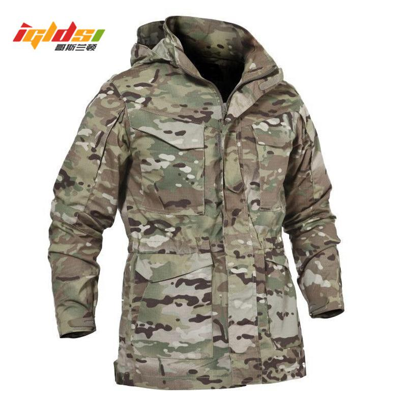 Men Tactical Jacket New 2018 Spring Autumn US Army M65 Field Jacket Trench  Coats Hoodie Casaco Masculino Windbreaker Oversized Jacket Womens Styles Of  ... 2dbe8c768