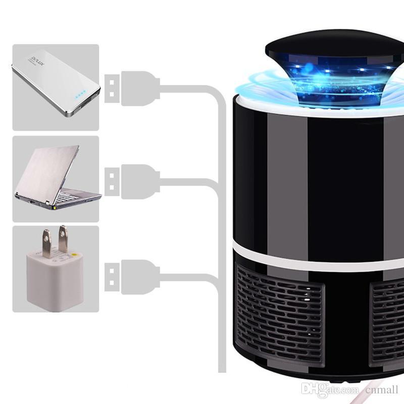 USB Fotokatalist Sivrisinek katili lamba Sivrisinek Kovucu Bug Böcek Tuzak ışık UV Işık Öldürme Tuzak Lamba Sinek Kovucu