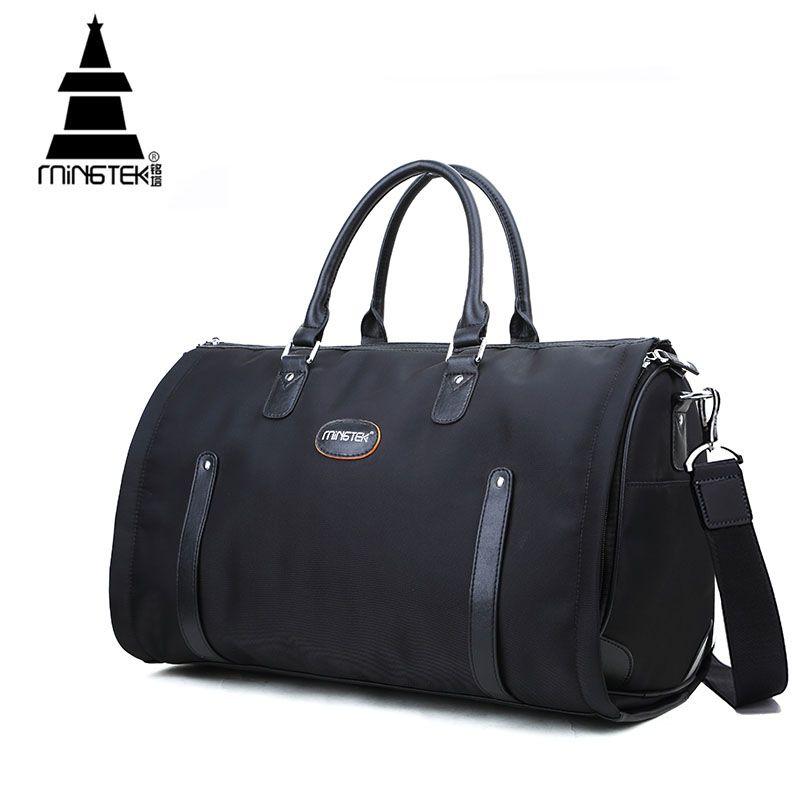 5546125e83ad Nylon Folding Travel Bag Hand Luggage Business Waterproof Shoulder Suit Bags  Large Capacity Tote Foldable Duffle Bag Unisex Dakine Suitcase Waterproof  ...
