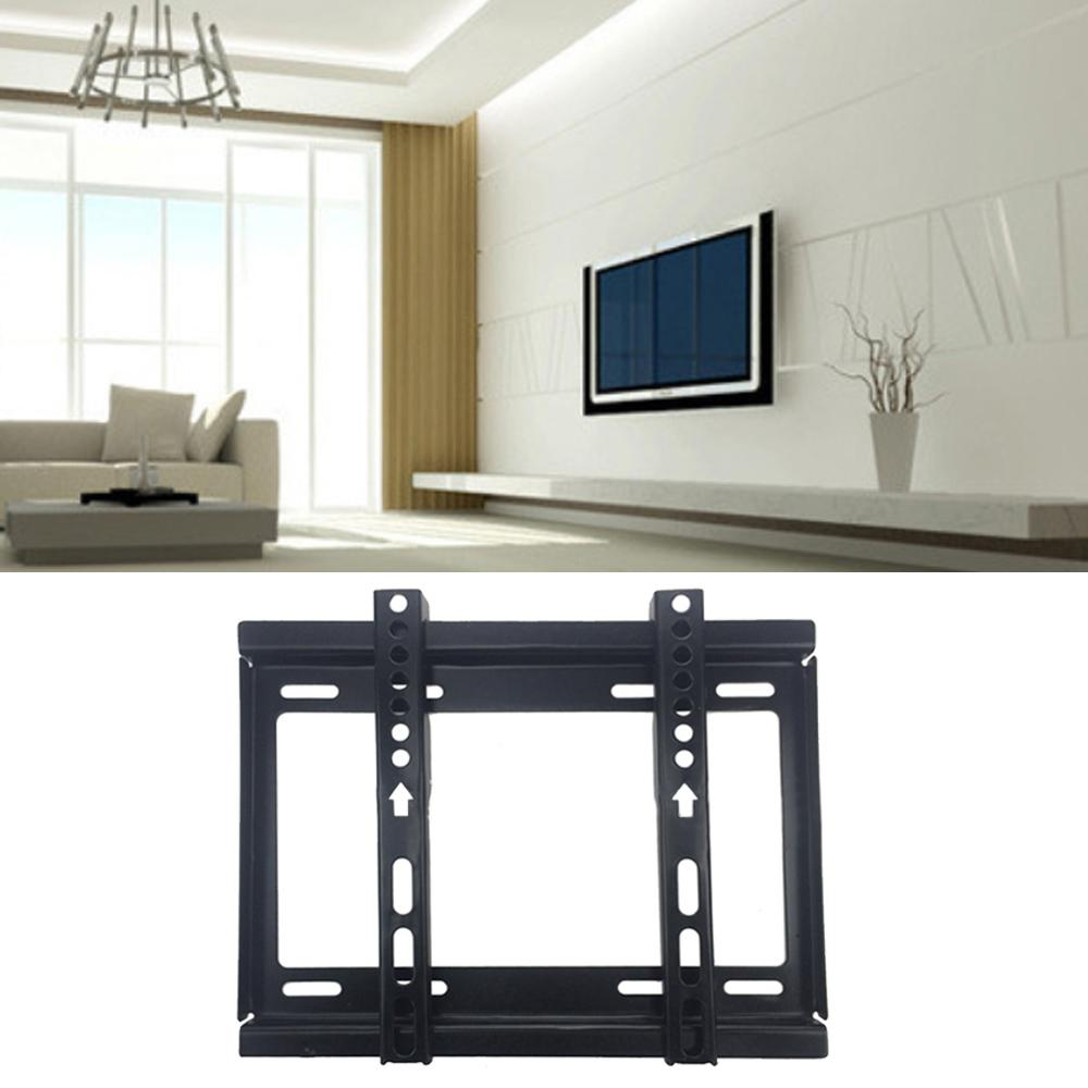 Besegad TV Max Rack Bracket Wall Mount Stand Holder for 14-42inches LCD LED  Plasma TVs Flat Panel Display Screen Gadget