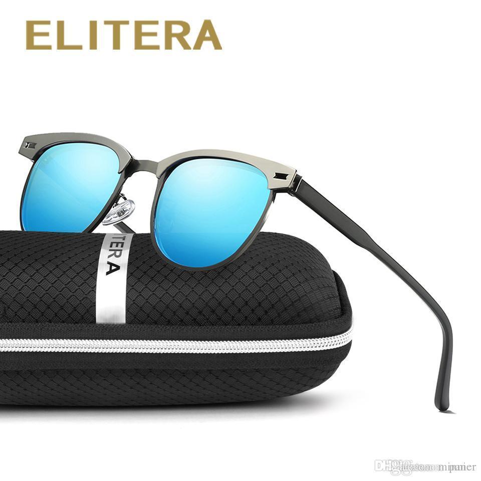 f586909cbaeb0 ELITERA New Arrival Classic Brand Men Women Sunglasses HD Polarized ...