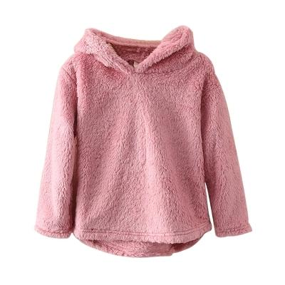 2148e0232 Cute New Style Baby Girl Winter Warm Hoodies Toddler Girls Flannel ...