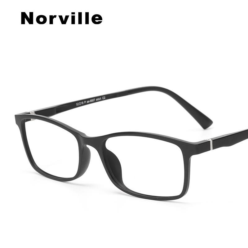 19e64177eec 2019 2018 Ultem Men Women Eye Glasses Frame Trendy High Quality Fashion  Myopia Transparent Retro Optical Glasses Frame  Pae 8807 From Enchanting11
