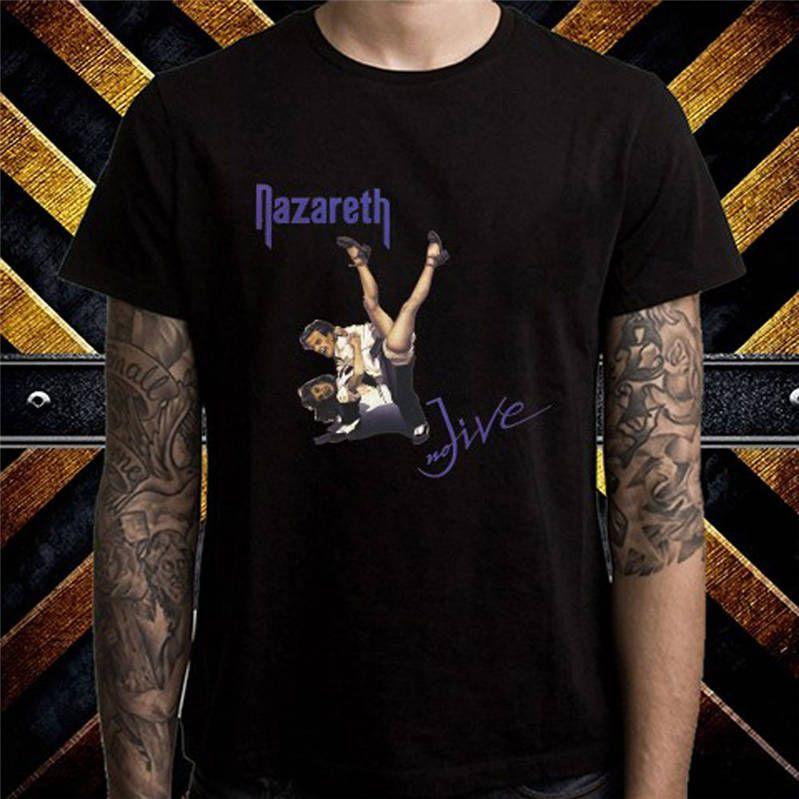 4e3385a8ed Creative Design T Shirt Fashion Nazareth No Live Short O-Neck T Shirts For  Men