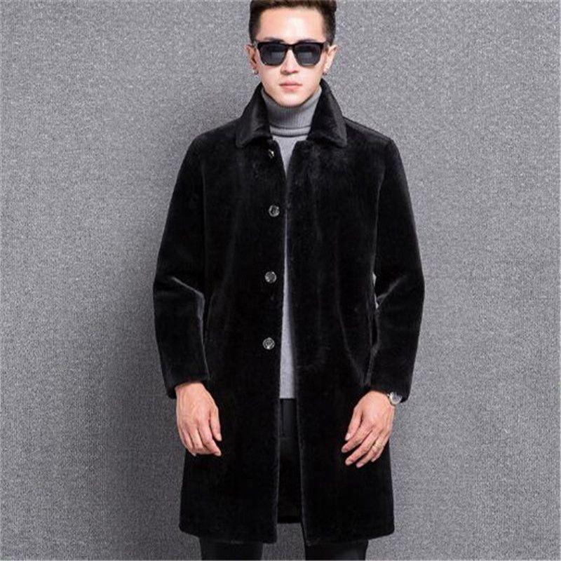 New Uomo Abbigliamento 2018 Inverno Tosatura Pecore Fashion Acquista wxESZzFpnp