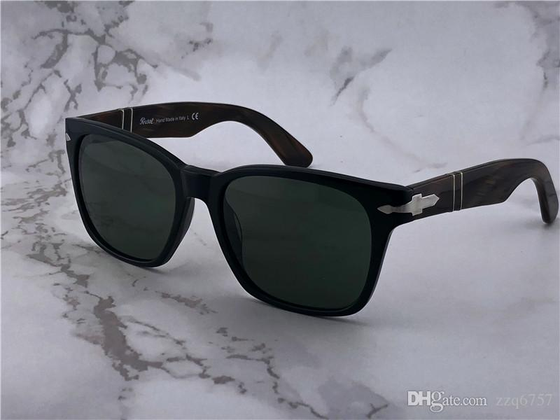 ecb5be493b Retro Persol Classic Sunglasses Series Italian Designer Style Square ...