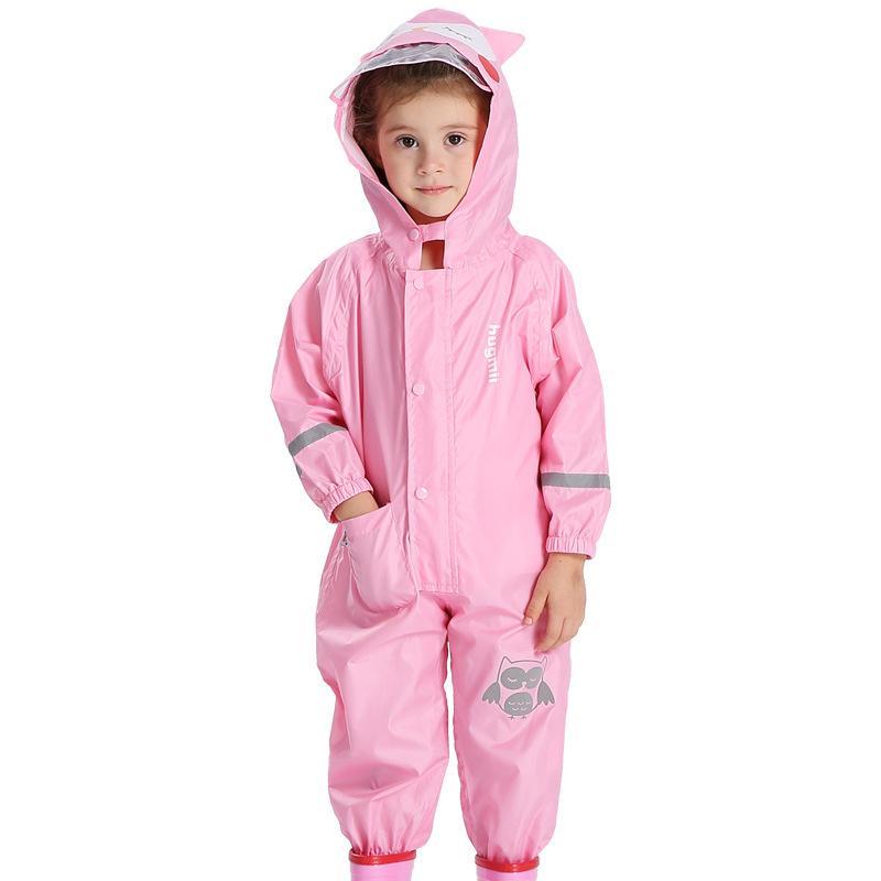 f1f58c4c6 Animal Lion Raincoat For 1 6 Years Kid Hood Waterproof Rain Coat For ...
