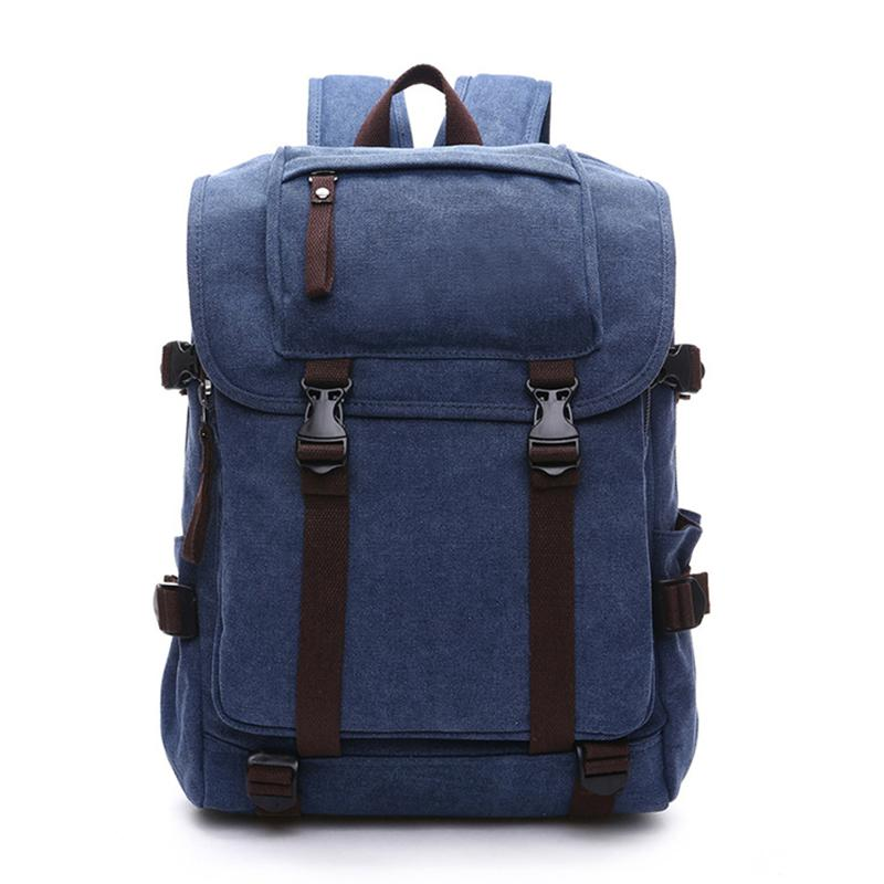 England Style Travel Canvas Backpack Male 2018 Women Vintage Canvas  Backpacks For Men School Bags Luggage Canvas Shoulder Bags Water Backpack  Mesh Backpack ... 93ab9737257d4