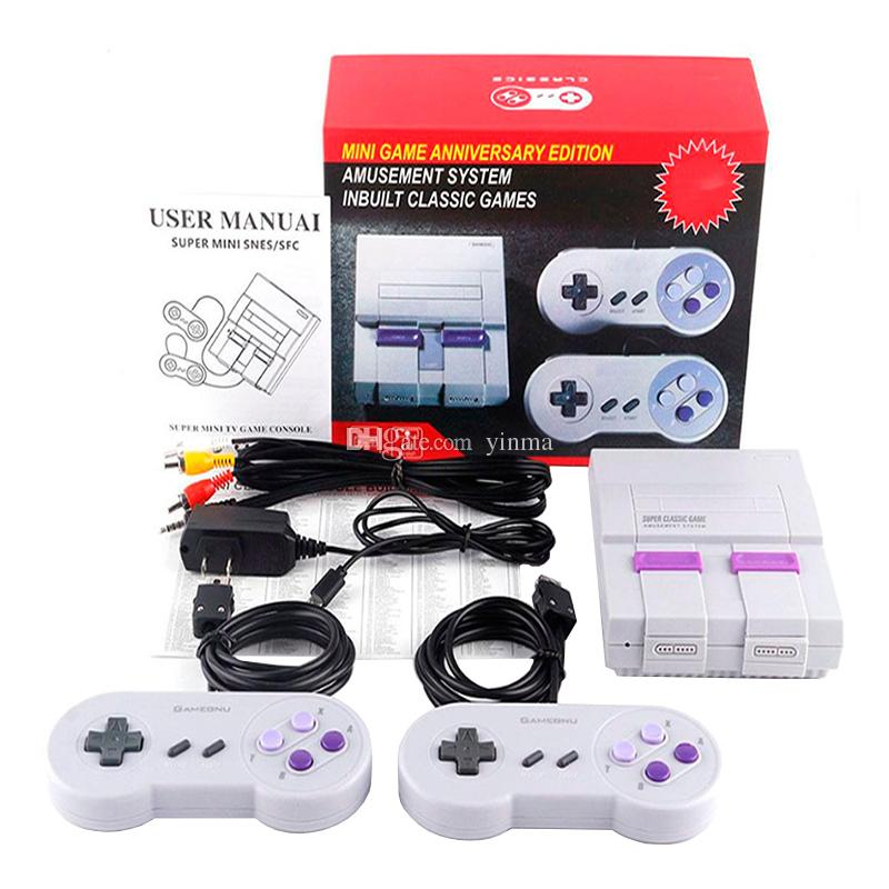 159d17e8ca3e 2019 Super Mini Classic TV Video Game Console 400 660 Classic Retro Games  Game Console For SFC NES Game Player From Yinma