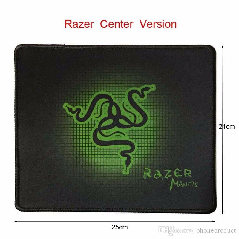 PC Mouse Mat Pad Razer Two sizes Goliathus Locking Edge Gaming Speed Version Mousepad For Lol CS Dota2