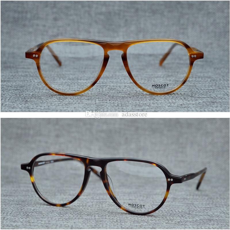 a82d2844bd MOSCOT Retro Fashion Glasses Frame JASPER Vintage Acetate Eyeglasses ...