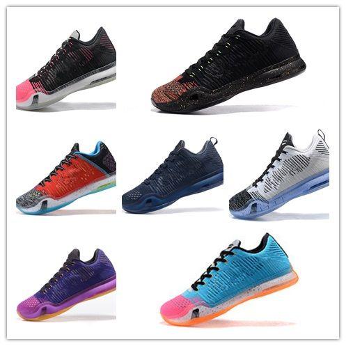 Hot Sale 2018 Top Quality Kobe 10 Low Weaving Basketball Shoes for ... 8667edbca8