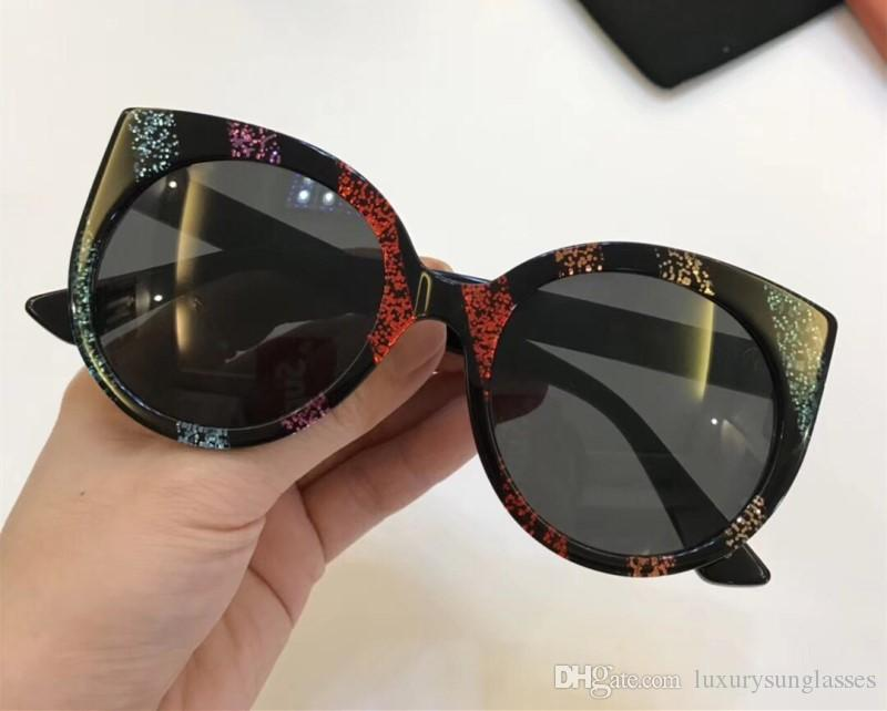 dd408ec0c1d 0325S Sunglasses Luxury Women Designer 0325 Fashion Oval Summer Style Mixed  Color Frame Top Quality UV Protection Lens Come With Case Cheap  Prescription ...