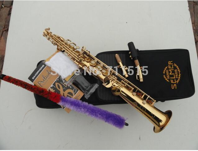 Brilliant Beautiful Golden Musical Instruments Profesionales Straight Soprano Bb Alto Saxophone Sax Saxofon France Henry Reference 54 Download Free Architecture Designs Scobabritishbridgeorg