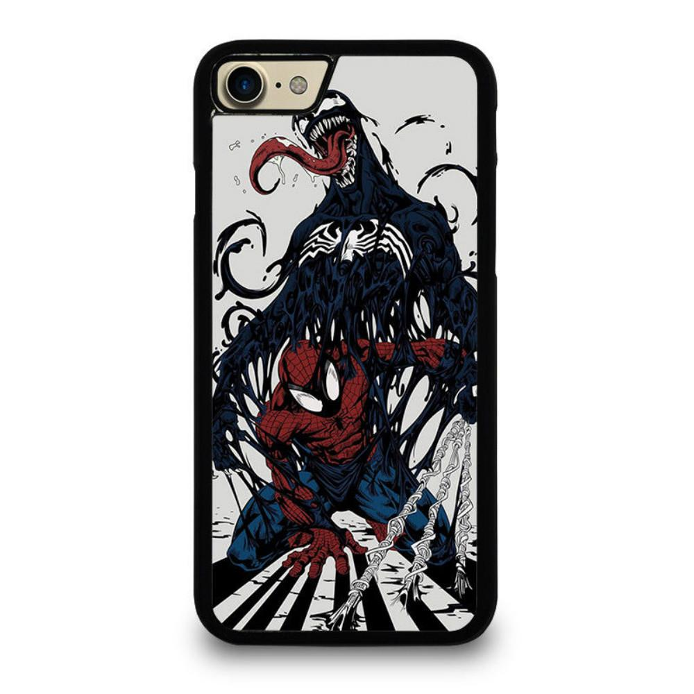reputable site 4030f 19965 Spiderman Venom Marvel Phone Case For Iphone 5c 5s 6s 6plus 6splus 7 7plus  Samsung Galaxy S5 S6 S6ep S7 S7ep