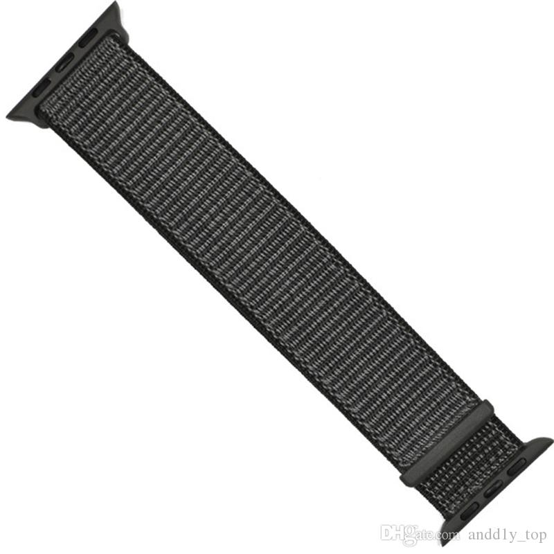 sport woven nylon loop strap for brand watch band wrist braclet belt fabric nylon band for watch1 2 3 series 38mm 42mm Strap