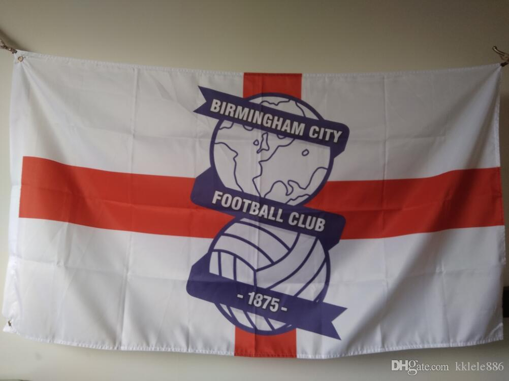 64c7f52b6f2 2019 Birmingham City FC Flag 90 X 150 Cm Polyester England Football Club  Sports Banner From Kklele886, $6.04 | DHgate.Com