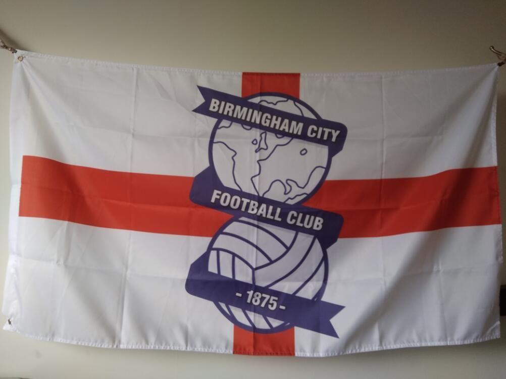 64c7f52b6f2 2019 Birmingham City FC Flag 90 X 150 Cm Polyester England Football Club  Sports Banner From Kklele886, $6.04   DHgate.Com