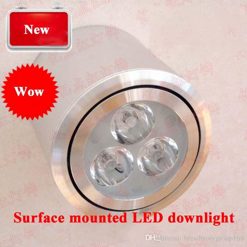 Downlight LED montado en la pared Foco LED para el techo Foco de techo Salón Luz del pasillo Tienda de ropa Lámpara de ahorro de energía LED