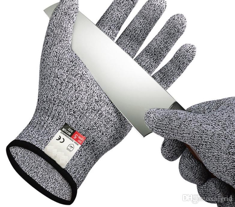 Cut-resistant Anti-Knife Glove Chain Saw Safty Gloves Level 5 Protection Hunting Survival Gear Travel Tool Camping Size L XL