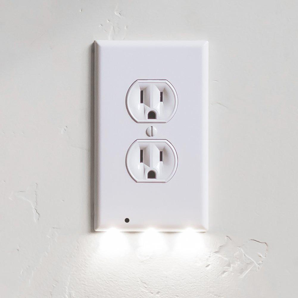 2018 Hallway Emergency Lamp Plug Cover Light Guidelight Outlet Wall ...