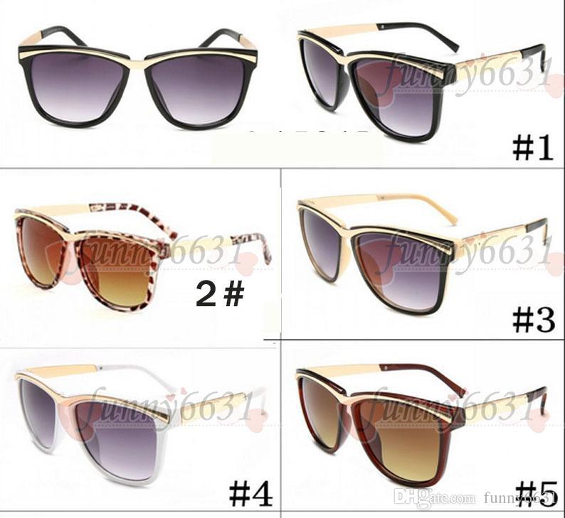 안경 검은 태양을 껐다 싼 여름 새로운 여성 운전 금속 선글라스 여성 패션 야외 바람 선글라스 무료 배송 안경