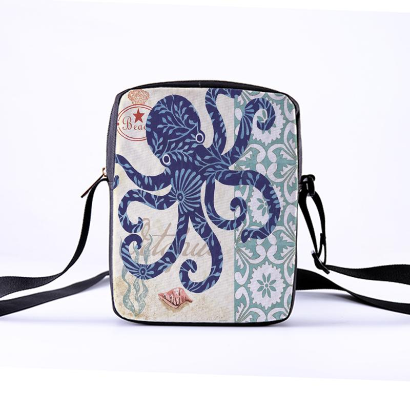 CROWDALE Women Crossbody Bags Marine Life Tortoise Printing for Kids Girls  Casual Mini Female Child Messenger Bags Bolsos Mujer Crossbody Bags Cheap  ... 8f887f4c1835a