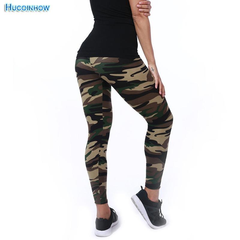 39a22b64b9ce3b 2019 Women Yoga Pants Spring Elastic Sport Camouflage Leggings 3D Print Thin  Fleece Slim Capris Quick Dry Trouser Skinny Gym Jeggings From Marchnice, ...