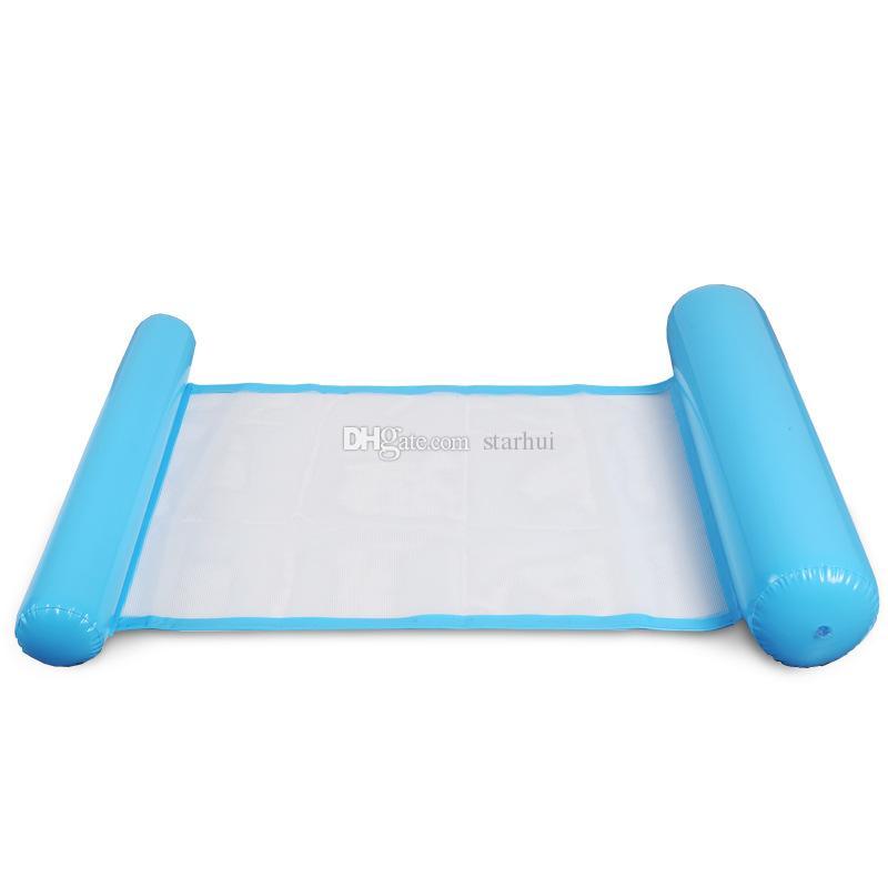 Yeni Yaz Yüzme Havuzları Şişme Yüzer Su Hamak Salonu Yatak Sandalye Yaz Şişme Havuz Şamandıra Yüzer Yatak WX9-593