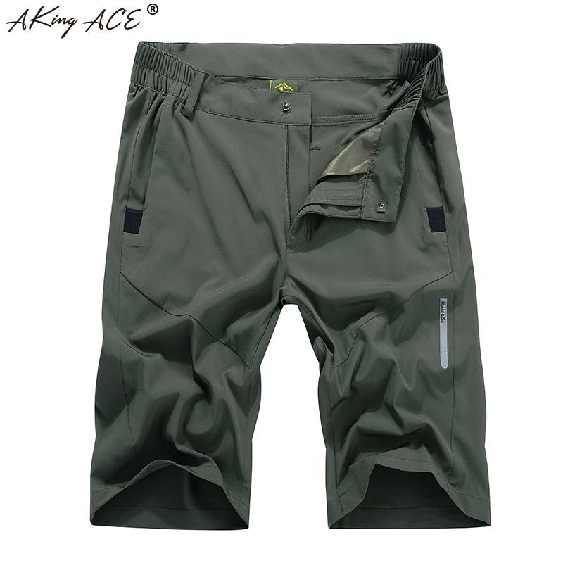 9a37d6ee9f33 2019 M 4XL 2018 AKing ACE New Cargo Shorts Men Thin Cool Quick Dry ...