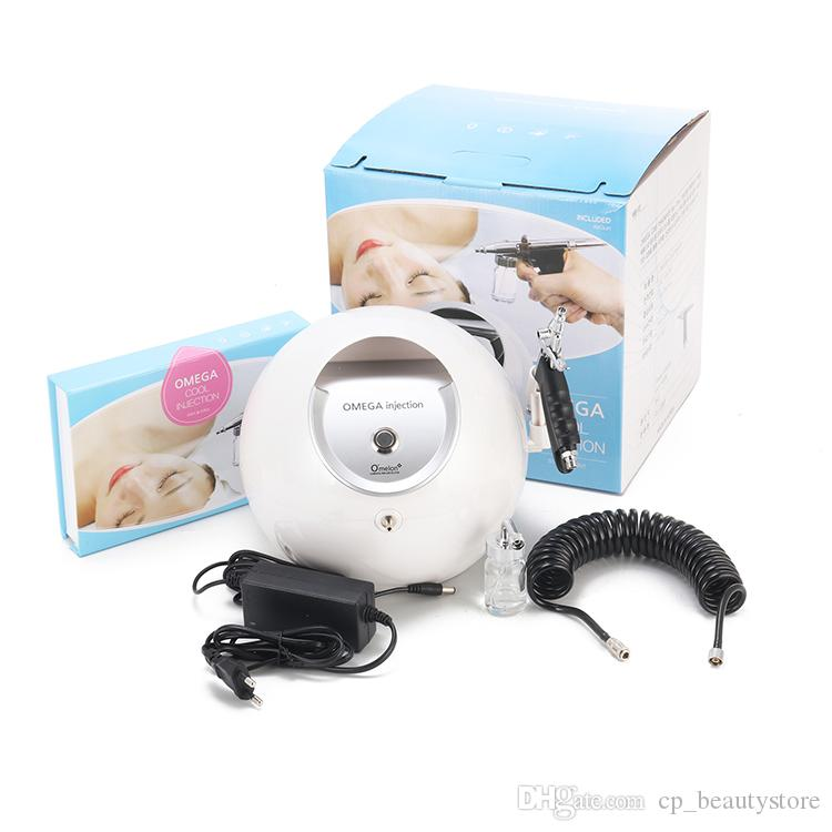 Home and salone use skin rejuvenation oxygen spray facial beauty machine