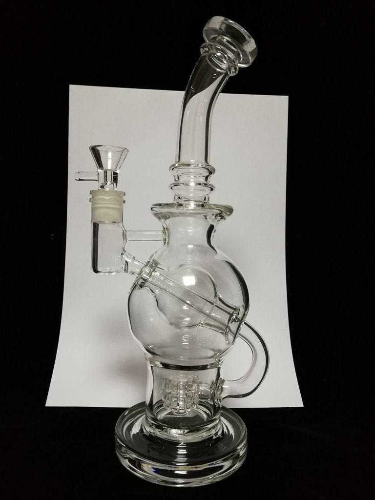 Vidro científico FTK / fab / fab ovo / fab eggo / copo fab ovo / exoshpere / ball rigs / torus vidro bongs sementes de vida cópia perc 14mm conjunta