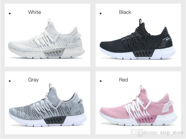 footlocker sale online big discount online Xtep women's shoes running shoes 2018 summer new integrated tongue fashion flying weave running shoes shock absorber sneakers real cheap price buy cheap free shipping cheap visit 94tH3X