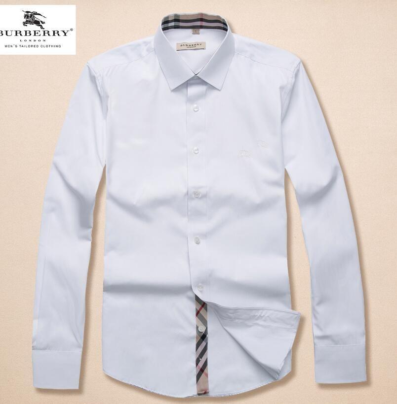 92eaf926df 2018 Brand Men s Business Casual Shirt Mens Long Sleeve Striped Slim ...