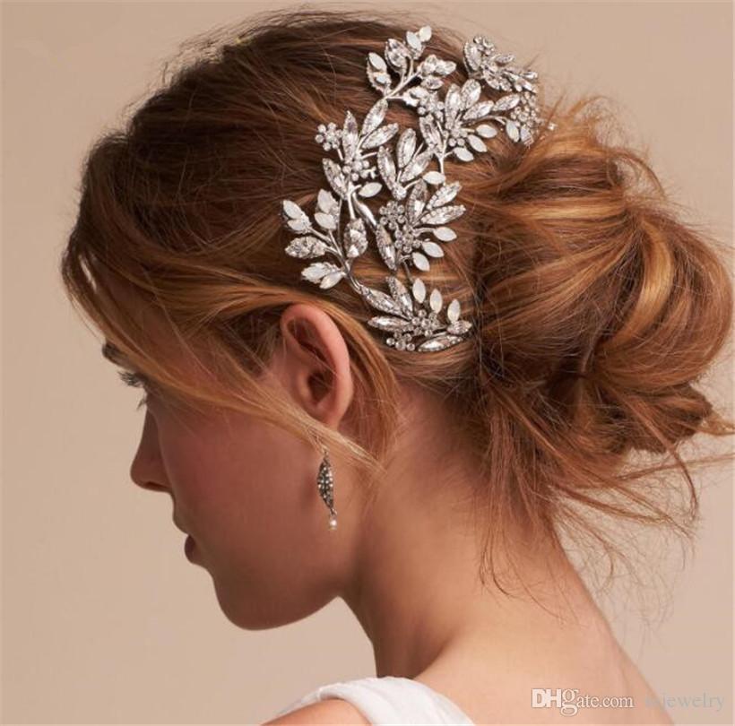 Vintage Wedding Bridal Rhinestone Headpiece
