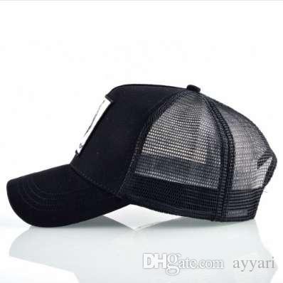 d389e7abb2c Fashion Snapback Trucker Hat For Men Summer Breathable Mesh Baseball ...